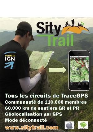 TraceGps le premier site de randonn�e en France